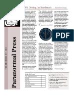 Paranormal Press, Nov. 2010