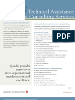 Quadel Technical Assistance and Consulting Services