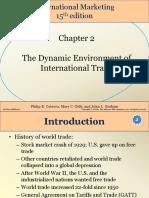 Dynamics of International Trade