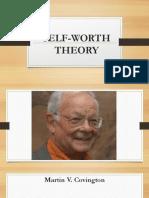 Self Worth Theory