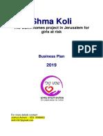 Business Plan Shma Koli