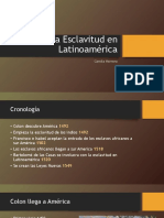 La Esclavitud en Latinoamérica