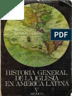 Dussel - Historia General de La Iglesia Tomo 5 (México)