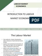 The labour Market pdf