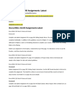 Devry ENGL 216 All Assignments Latest
