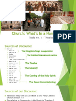 (Topic 01) Church-What's in a Name [UPDATED-PDF]
