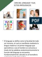 adquisición del lenguaje y sus aspectos patologicos
