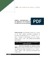 Pet. inicial - Auxílio-doença - Ilegalidade da alta programada.doc