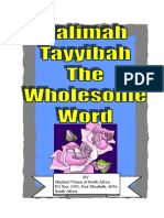 KALIMAH TAYYIBAH - THE WHOLESOME WORD.pdf