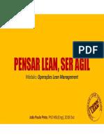 Operações Lean Management