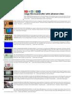Advanced View of Atmega Microcontroller Projects List 1649- ATMega32 AVR