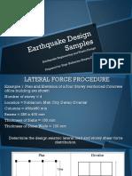 Chapter 8 - Earthquake Design Samples