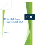 s4 Hana Finance Overview