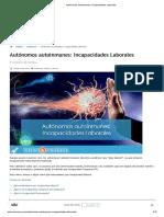 Autónomos Autoinmunes_ Incapacidades Laborales