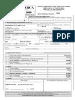 Formulario impuestos