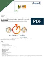 250 Charlas de 5 minutos para mejorar la gestión de la prevención de riesgos laborales _ Prevencionar.pdf