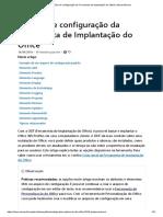 Configuracao XML Office 2016