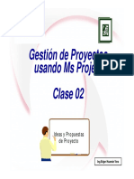 Msproject Clase 02