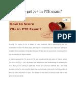 How to get 79+ in PTE exam - PTE GURUS