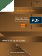 Metodologia de Pesquisa Científica