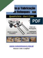 Projeto de Reboque para Kart Cross e Quadriciclo - Via Download