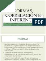 Psico. Normas, Correlación e Inferencias (2)