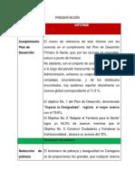 Rendición de Cuentas un año de gobierno de Pedrito Pereira