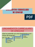 Lineamientos Lenguaje-presentación