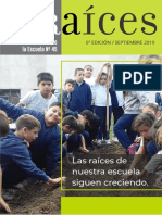 Escuela 45 - Revista Raices - Set2019