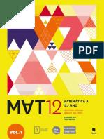 Mat 12 Vol I Texto