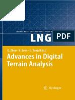 Advances in Digital Terrain Analysis - Q. Shou, B. Lees, G. Tang