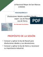 Clase 3 Disoluciones Ideales Equilibrio Liquido Vapor Ley de Raoult Ley de Henry 19