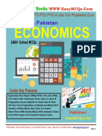 Economics Solved MCQs Guide PDF by Dogar Publishers