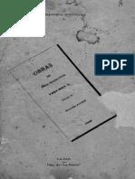 Félix Reyes Ortíz - Obras. Volumen I-Escritos Políticos (Prólogo de Nicolás Acosta) (1889)