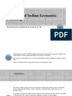 Gandhi and Indian Economic Planning (Unit III)