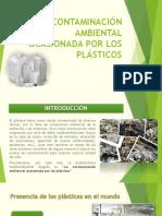 Contaminación Ambiental Ocasionada Por Los Plásticos