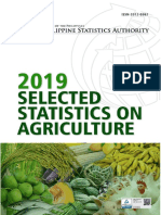 Selected Statistics on Agriculture 2019