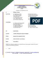 Convocatoria Reunión Ordinaria CDD No. 09-2019, 25-09-2019