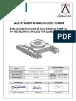 Fallas en palas PC4000