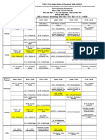 Final Time-table- MBA II Yr Trim v (2019-20)