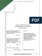 Andrew Fine et al v Tim Cook, Craig Federighi .... Lawsuit breach of Fiduciary Duty +