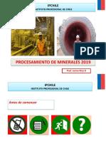 Procesamiento de Minerales 2019