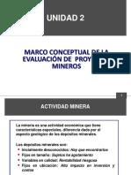 UNIDAD 2 MARCO CONCEPTUAL DE LA EVALUACION DE PROYECTOS MINEROS.pdf