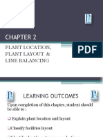 Chapter 2 - Plant Location, Plant Layout and Line Balancing (Betul)