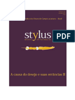 Stylus - A Causa Do Desejo e Suas Errâncias II