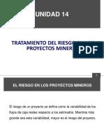 Unidad 14 Tratamiento Del Riesgo en Los Proyectos Mineros