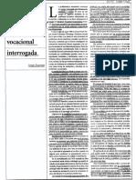 Subjetividad de Epoca. La Orientacion Vocacional Interrogada - Sergio Rascovan (1)