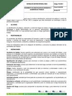 Anexo 9 Procedimiento de Identificacion de Peligros y Valoracion de Riesgos.