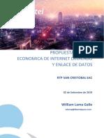 Propuesta Internet Datos Sg Telefonia Fibertel Rtp San Cristobal Sac