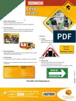 Afiche Prevencion de Emergencias Sismos